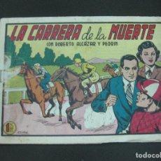 Tebeos: ROBERTO ALCAZAR Y PEDRIN, Nº 300. LA CARRERA DE LA MUERTE. EDITORIAL VALENCIANA. Lote 185976915