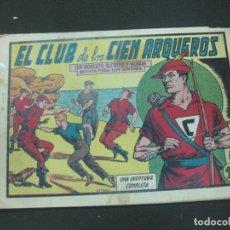 Tebeos: ROBERTO ALCAZAR Y PEDRIN, Nº 386. EL CLUB DE LOS ARQUEROS. EDITORIAL VALENCIANA. Lote 185976966