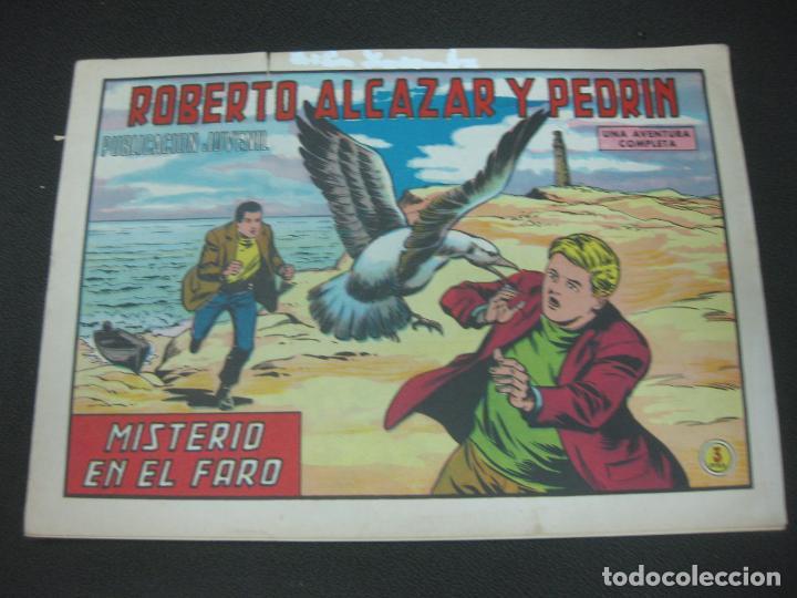 ROBERTO ALCAZAR Y PEDRIN, Nº 1035. MISTERIO EN EL FARO. EDITORIAL VALENCIANA 1972 (Tebeos y Comics - Valenciana - Roberto Alcázar y Pedrín)