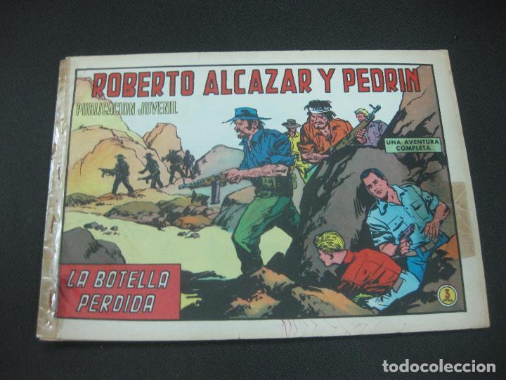 ROBERTO ALCAZAR Y PEDRIN, Nº 1057. LA BOTELLA PERDIDA. EDITORIAL VALENCIANA 1972 (Tebeos y Comics - Valenciana - Roberto Alcázar y Pedrín)