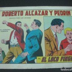 Tebeos: ROBERTO ALCAZAR Y PEDRIN, Nº 713. EL LOCO FINGIDO. EDITORIAL VALENCIANA 1965. Lote 185977123