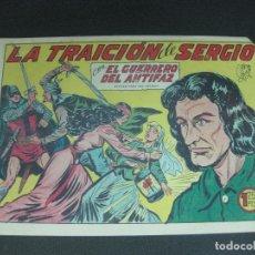 Tebeos: EL GUERRERO DEL ANTIFAZ, Nº 295. LA TRAICION DE SERGIO. EDITORIAL VALENCIANA. Lote 185977496