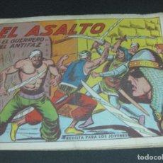 Tebeos: EL GUERRERO DEL ANTIFAZ, Nº 585. EL ASALTO. EDITORIAL VALENCIANA 1964 . Lote 185977587