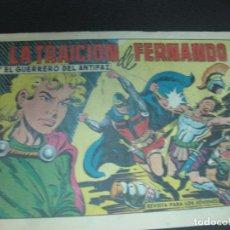 Tebeos: EL GUERRERO DEL ANTIFAZ, Nº 468. LA TRAICION DE FERNANDO. EDITORIAL VALENCIANA 1962 . Lote 185977758