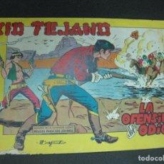 Tebeos: KID TEJANO, Nº 4. LA OFENSIVA DEL ODIO. EDITORIAL VALENCIANA 1961. Lote 185977841