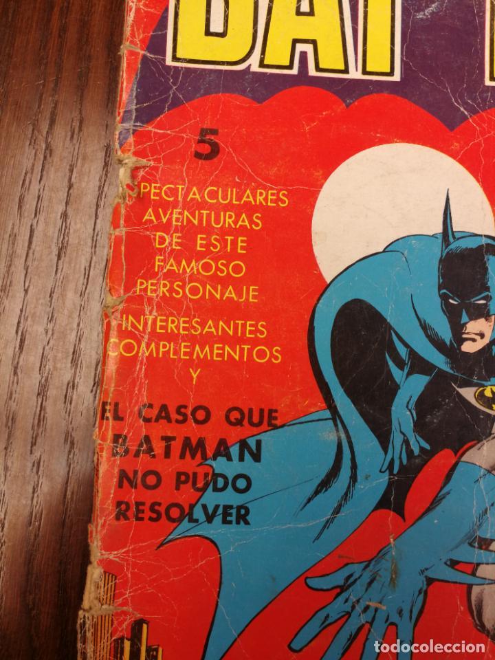 Tebeos: BATMAN (BAT MAN) EDITORIAL VALENCIANA - 1976 - FORMATO GIGANTE - Foto 2 - 186100833