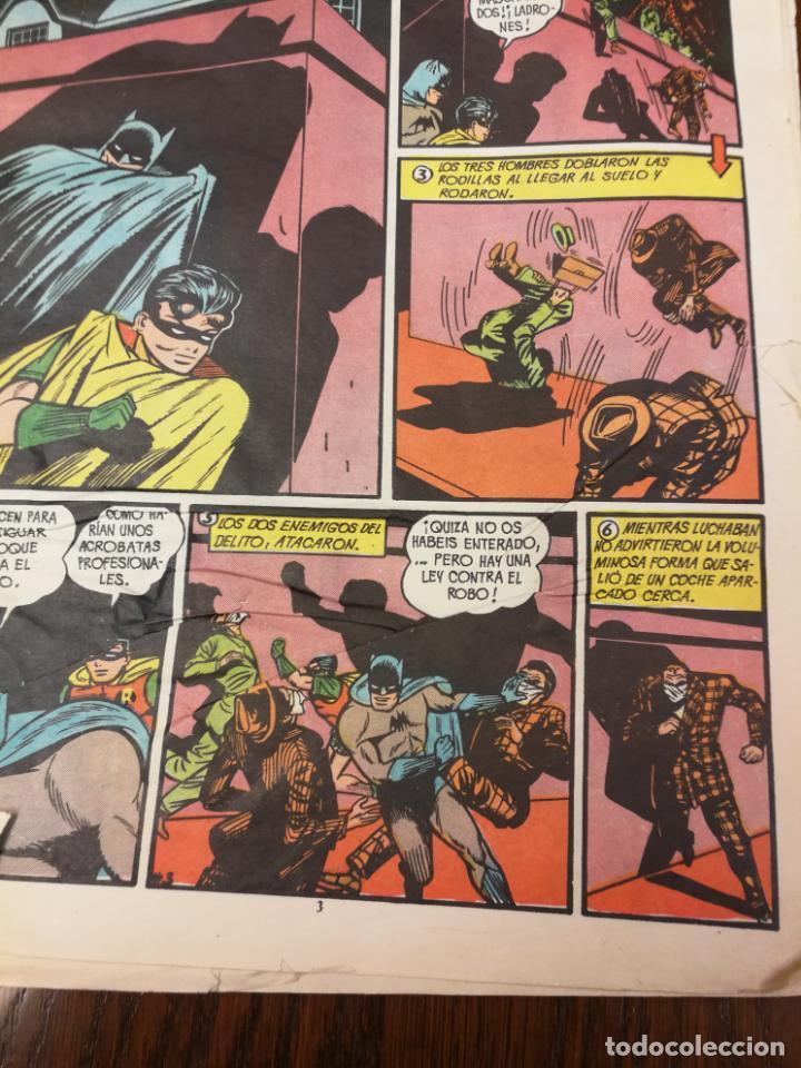 Tebeos: BATMAN (BAT MAN) EDITORIAL VALENCIANA - 1976 - FORMATO GIGANTE - Foto 5 - 186100833