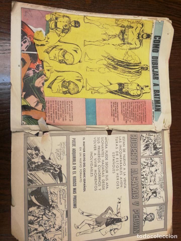 Tebeos: BATMAN (BAT MAN) EDITORIAL VALENCIANA - 1976 - FORMATO GIGANTE - Foto 9 - 186100833