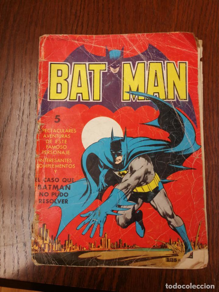 BATMAN (BAT MAN) EDITORIAL VALENCIANA - 1976 - FORMATO GIGANTE (Tebeos y Comics - Valenciana - Otros)
