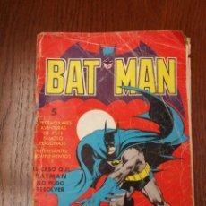 Tebeos: BATMAN (BAT MAN) EDITORIAL VALENCIANA - 1976 - FORMATO GIGANTE. Lote 186100833