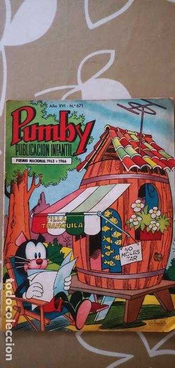 Tebeos: Lote de 83 números de la revista Pumby entre 671 y 974 Editorial Valenciana con Extras y Almanaque - Foto 4 - 186148720