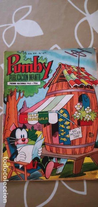 Tebeos: Lote de 83 números de la revista Pumby entre 671 y 974 Editorial Valenciana con Extras y Almanaque - Foto 7 - 186148720