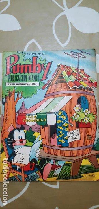 Tebeos: Lote de 83 números de la revista Pumby entre 671 y 974 Editorial Valenciana con Extras y Almanaque - Foto 10 - 186148720
