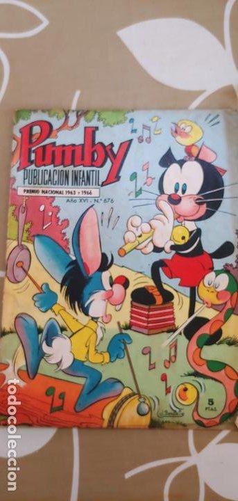 Tebeos: Lote de 83 números de la revista Pumby entre 671 y 974 Editorial Valenciana con Extras y Almanaque - Foto 21 - 186148720