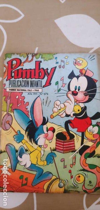 Tebeos: Lote de 83 números de la revista Pumby entre 671 y 974 Editorial Valenciana con Extras y Almanaque - Foto 22 - 186148720