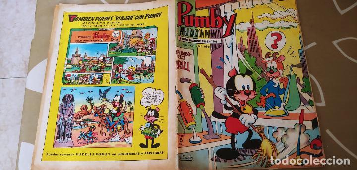 Tebeos: Lote de 83 números de la revista Pumby entre 671 y 974 Editorial Valenciana con Extras y Almanaque - Foto 49 - 186148720