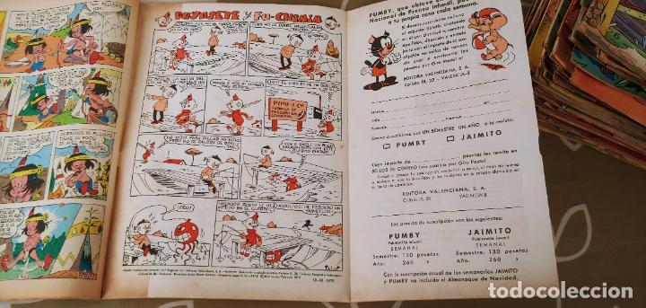 Tebeos: Lote de 83 números de la revista Pumby entre 671 y 974 Editorial Valenciana con Extras y Almanaque - Foto 61 - 186148720