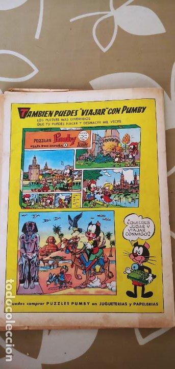 Tebeos: Lote de 83 números de la revista Pumby entre 671 y 974 Editorial Valenciana con Extras y Almanaque - Foto 62 - 186148720