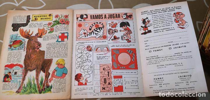 Tebeos: Lote de 83 números de la revista Pumby entre 671 y 974 Editorial Valenciana con Extras y Almanaque - Foto 134 - 186148720