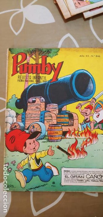 Tebeos: Lote de 83 números de la revista Pumby entre 671 y 974 Editorial Valenciana con Extras y Almanaque - Foto 136 - 186148720