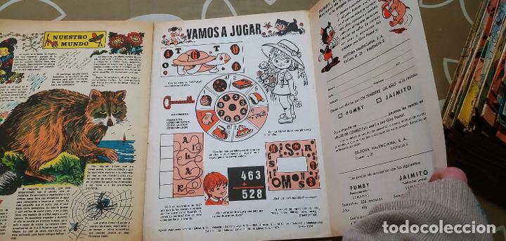 Tebeos: Lote de 83 números de la revista Pumby entre 671 y 974 Editorial Valenciana con Extras y Almanaque - Foto 159 - 186148720