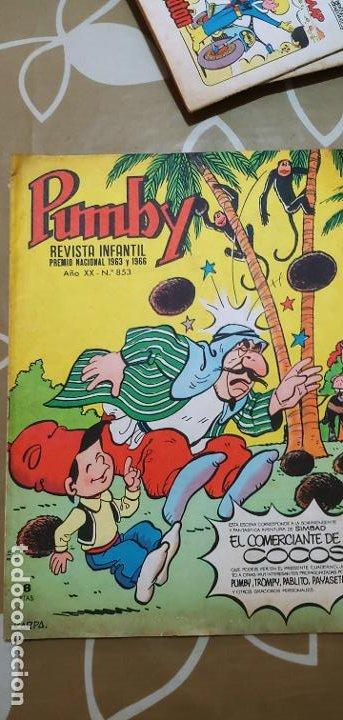 Tebeos: Lote de 83 números de la revista Pumby entre 671 y 974 Editorial Valenciana con Extras y Almanaque - Foto 161 - 186148720