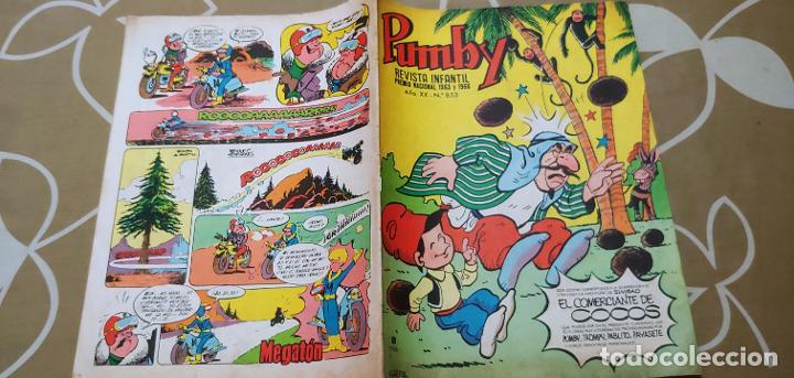 Tebeos: Lote de 83 números de la revista Pumby entre 671 y 974 Editorial Valenciana con Extras y Almanaque - Foto 162 - 186148720