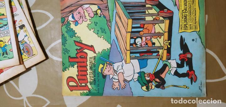 Tebeos: Lote de 83 números de la revista Pumby entre 671 y 974 Editorial Valenciana con Extras y Almanaque - Foto 198 - 186148720