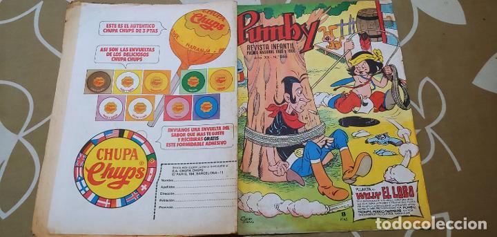 Tebeos: Lote de 83 números de la revista Pumby entre 671 y 974 Editorial Valenciana con Extras y Almanaque - Foto 250 - 186148720