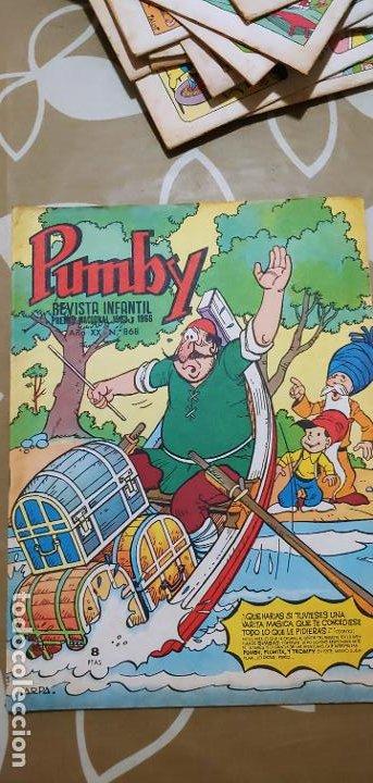 Tebeos: Lote de 83 números de la revista Pumby entre 671 y 974 Editorial Valenciana con Extras y Almanaque - Foto 261 - 186148720