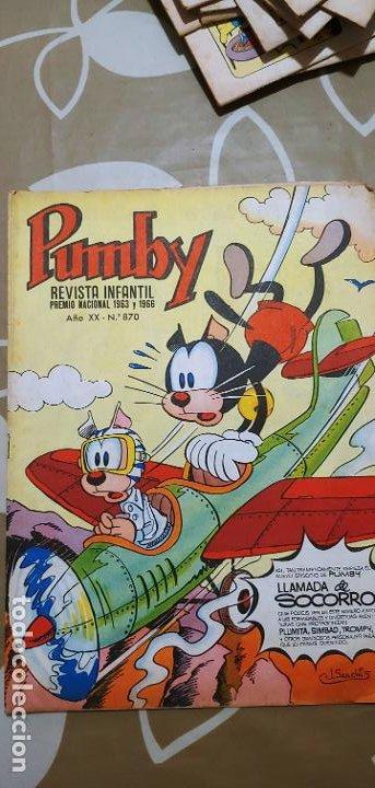Tebeos: Lote de 83 números de la revista Pumby entre 671 y 974 Editorial Valenciana con Extras y Almanaque - Foto 273 - 186148720
