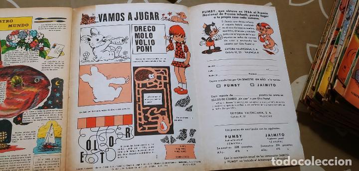Tebeos: Lote de 83 números de la revista Pumby entre 671 y 974 Editorial Valenciana con Extras y Almanaque - Foto 296 - 186148720
