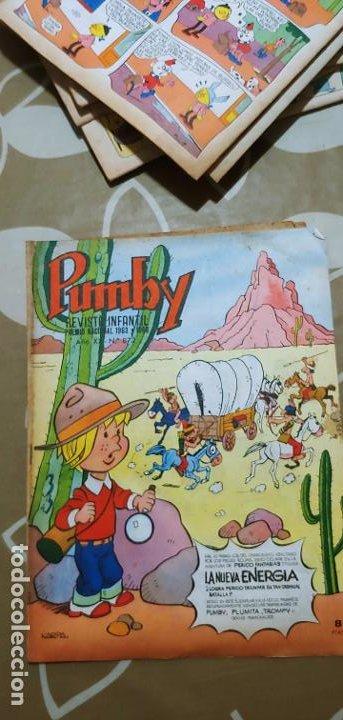 Tebeos: Lote de 83 números de la revista Pumby entre 671 y 974 Editorial Valenciana con Extras y Almanaque - Foto 298 - 186148720