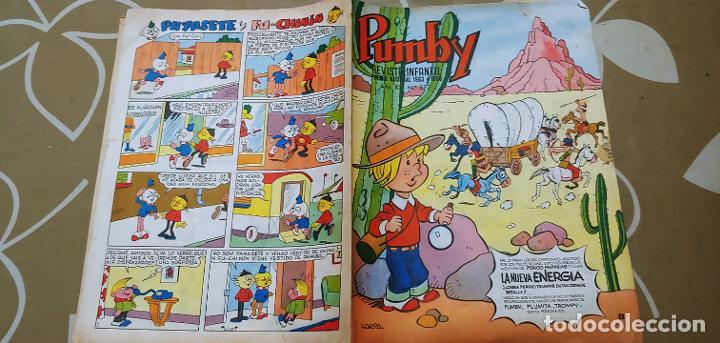 Tebeos: Lote de 83 números de la revista Pumby entre 671 y 974 Editorial Valenciana con Extras y Almanaque - Foto 299 - 186148720
