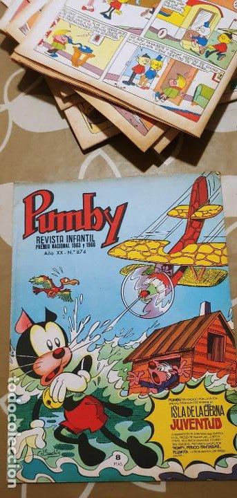 Tebeos: Lote de 83 números de la revista Pumby entre 671 y 974 Editorial Valenciana con Extras y Almanaque - Foto 310 - 186148720
