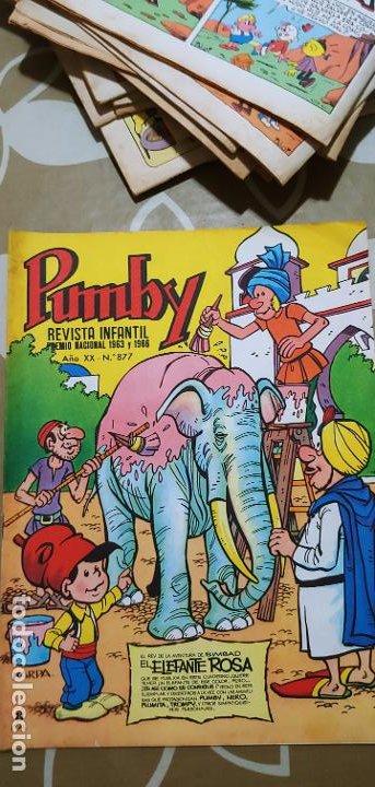 Tebeos: Lote de 83 números de la revista Pumby entre 671 y 974 Editorial Valenciana con Extras y Almanaque - Foto 347 - 186148720