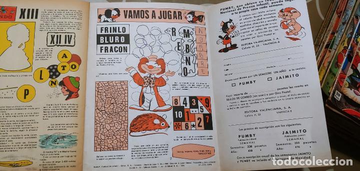 Tebeos: Lote de 83 números de la revista Pumby entre 671 y 974 Editorial Valenciana con Extras y Almanaque - Foto 358 - 186148720