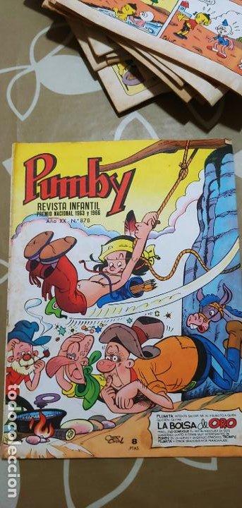Tebeos: Lote de 83 números de la revista Pumby entre 671 y 974 Editorial Valenciana con Extras y Almanaque - Foto 360 - 186148720