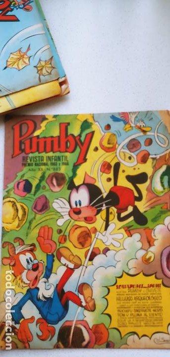 Tebeos: Lote de 83 números de la revista Pumby entre 671 y 974 Editorial Valenciana con Extras y Almanaque - Foto 389 - 186148720