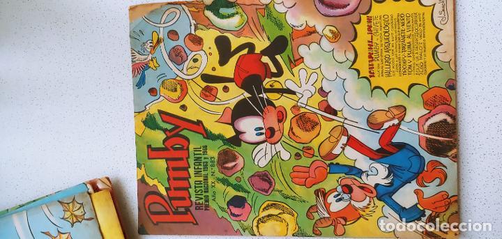 Tebeos: Lote de 83 números de la revista Pumby entre 671 y 974 Editorial Valenciana con Extras y Almanaque - Foto 391 - 186148720