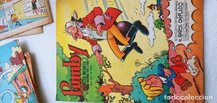 Tebeos: Lote de 83 números de la revista Pumby entre 671 y 974 Editorial Valenciana con Extras y Almanaque - Foto 414 - 186148720