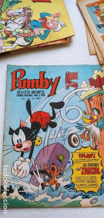 Tebeos: Lote de 83 números de la revista Pumby entre 671 y 974 Editorial Valenciana con Extras y Almanaque - Foto 427 - 186148720