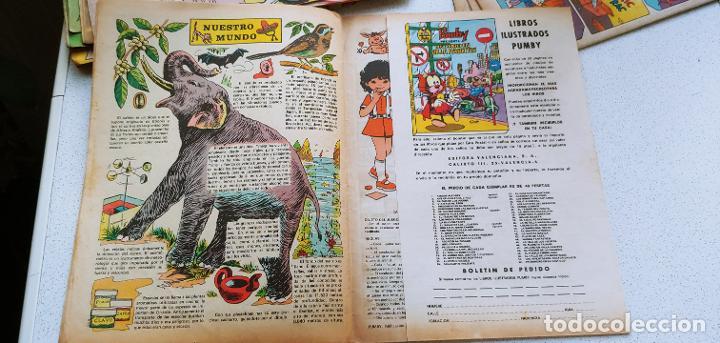 Tebeos: Lote de 83 números de la revista Pumby entre 671 y 974 Editorial Valenciana con Extras y Almanaque - Foto 437 - 186148720