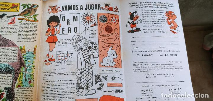 Tebeos: Lote de 83 números de la revista Pumby entre 671 y 974 Editorial Valenciana con Extras y Almanaque - Foto 438 - 186148720