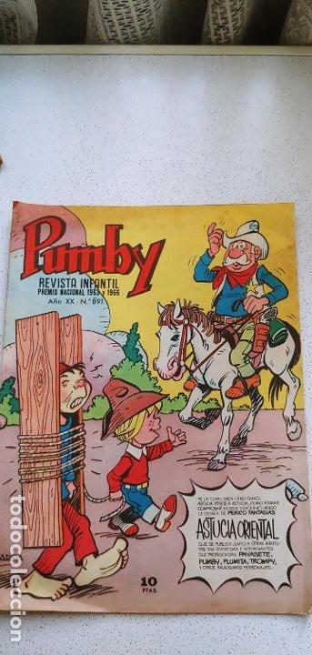 Tebeos: Lote de 83 números de la revista Pumby entre 671 y 974 Editorial Valenciana con Extras y Almanaque - Foto 440 - 186148720