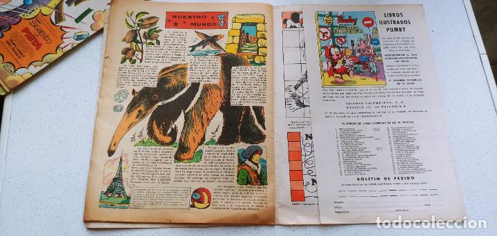 Tebeos: Lote de 83 números de la revista Pumby entre 671 y 974 Editorial Valenciana con Extras y Almanaque - Foto 450 - 186148720