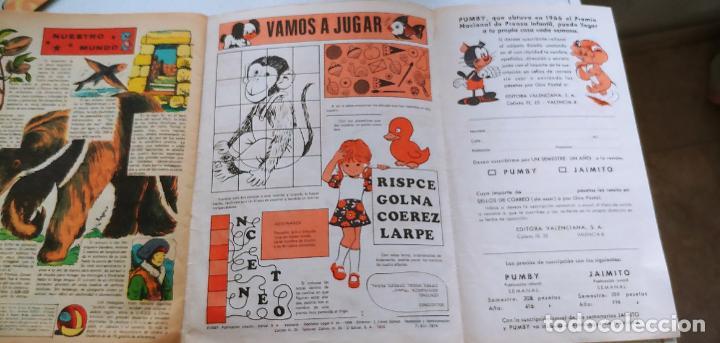 Tebeos: Lote de 83 números de la revista Pumby entre 671 y 974 Editorial Valenciana con Extras y Almanaque - Foto 451 - 186148720