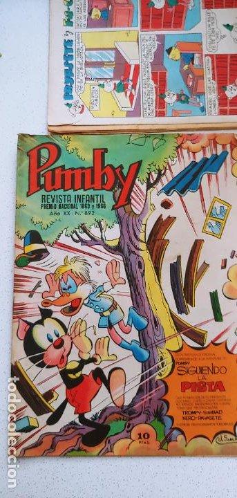Tebeos: Lote de 83 números de la revista Pumby entre 671 y 974 Editorial Valenciana con Extras y Almanaque - Foto 453 - 186148720