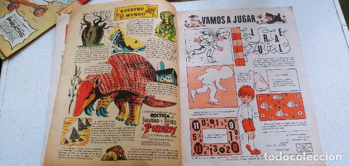 Tebeos: Lote de 83 números de la revista Pumby entre 671 y 974 Editorial Valenciana con Extras y Almanaque - Foto 463 - 186148720