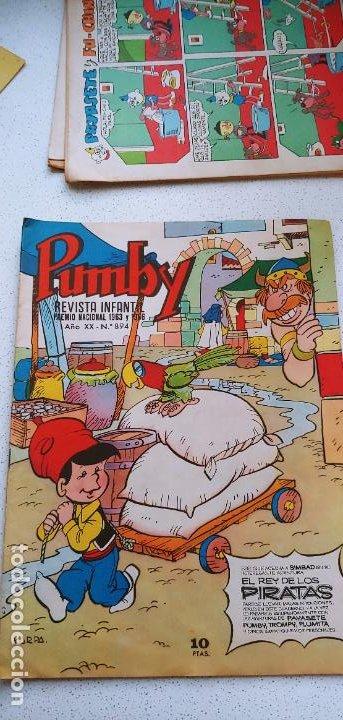 Tebeos: Lote de 83 números de la revista Pumby entre 671 y 974 Editorial Valenciana con Extras y Almanaque - Foto 465 - 186148720